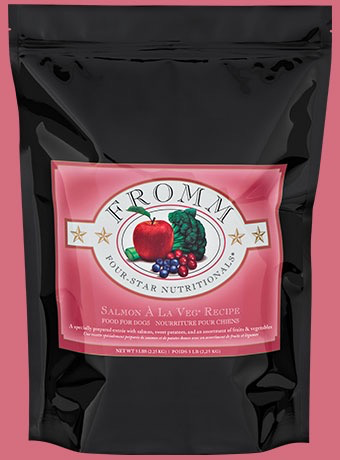 Fromm Fromm Four Star Grain Inclusive Dry Dog Food, Salmon A La Veg Product Image