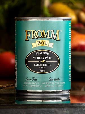 Fromm Fromm Family Foods Seafood Medley Pate Canned Dog Food, 12.2 oz can