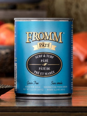 Fromm Fromm Surf & Turf Pate Canned Dog Food, 12.2 oz can
