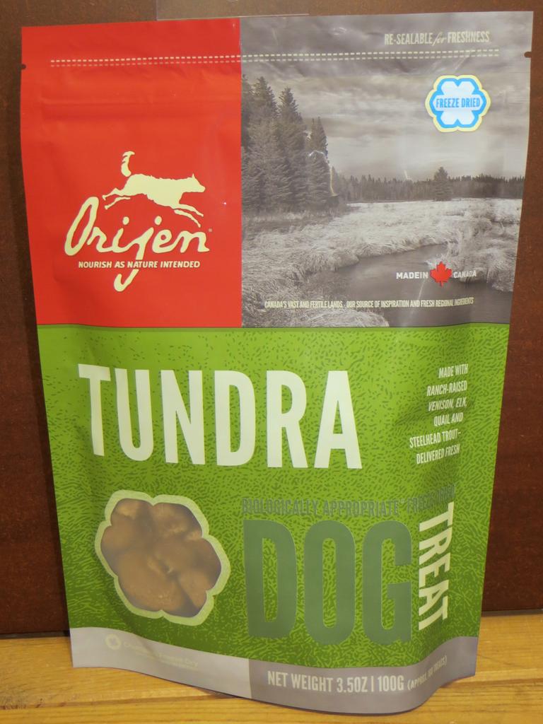 Orijen Orijen Tundra Freeze-Dried Treats 3.25 oz bag