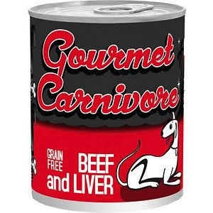 Tiki Tiki Dog Gourmet Carnivore Beef & Liver Dog Food, 12 oz can Product Image