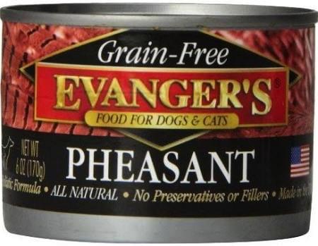 Evanger Evanger's Pheasant for Dog and Cat, 6 oz can