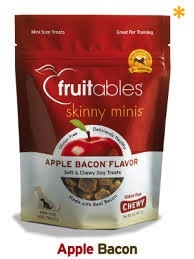 Fruitables Fruitables Chewy Apple Bacon Treats, 12 oz bag Product Image