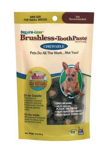 Ark Naturals Ark Naturals Breath-Less Chewable Brushless-Toothpaste Mini, 4 oz bag Product Image