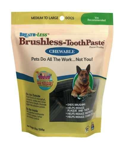 Ark Naturals Ark Naturals Breath-Less Chewable Brushless-Toothpaste M/L, 18 oz bag Product Image