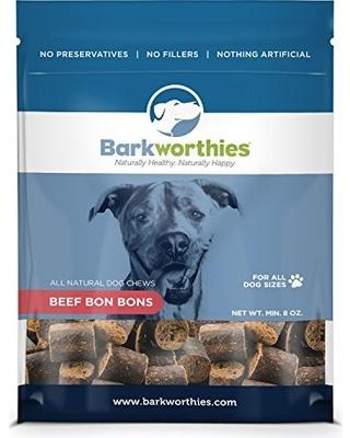 Barkworthies Barkworthies Beef Bon Bons, 8 oz bag Product Image