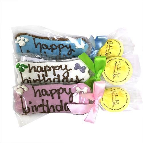 Bubba Rose Bubba Rose Biscuit Company Individually Wrapped Birthday Bones Treat Product Image