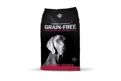 Diamond Diamond Naturals Grain Free Dry Dog Food, Beef & Sweet Potato, 28 lb bag Product Image