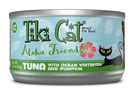 Tiki Tiki Cat Aloha Friends Tuna with Ocean Whitefish and Pumpkin Product Image
