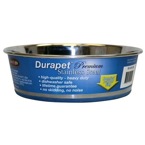 Durapet Durapet Stainless Steel Bowl 144 oz / 4.5 qt Product Image