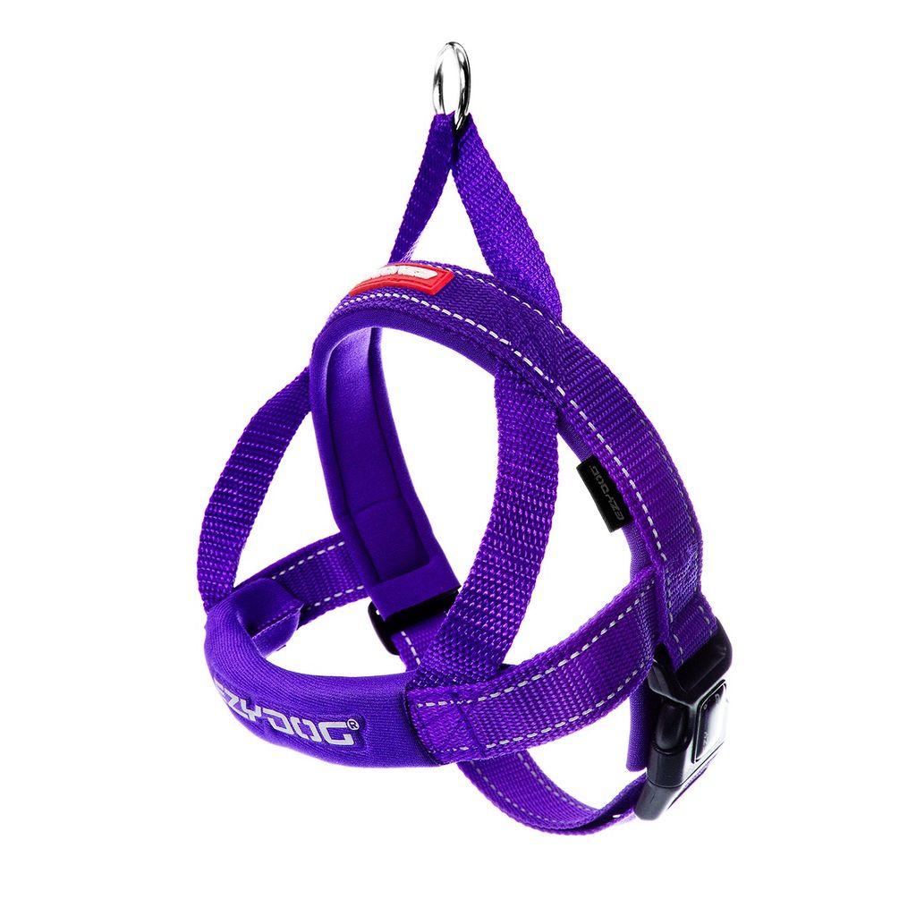 EzyDog EzyDog Quick Fit Harness Purple, Large Product Image