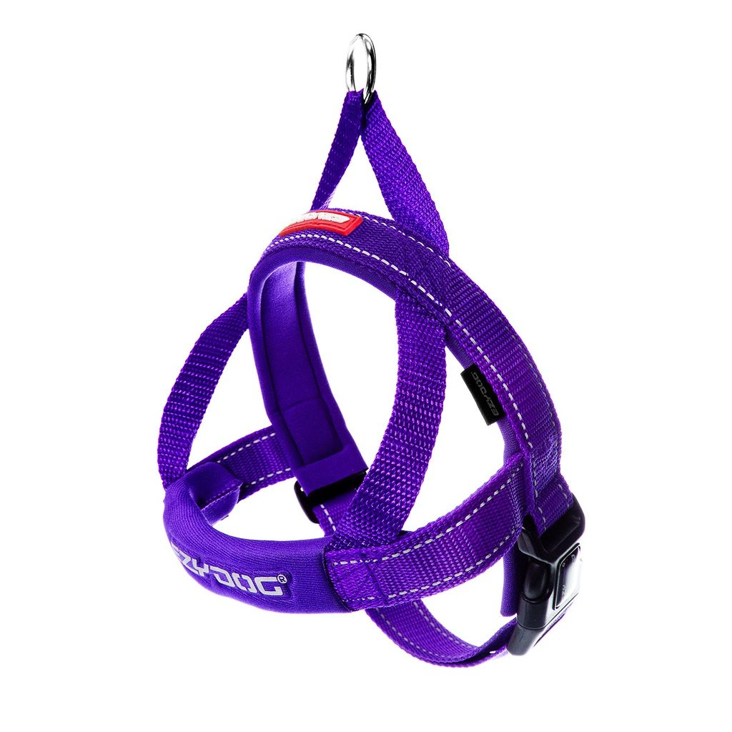EzyDog Quick Fit Harness Purple, Medium Product Image