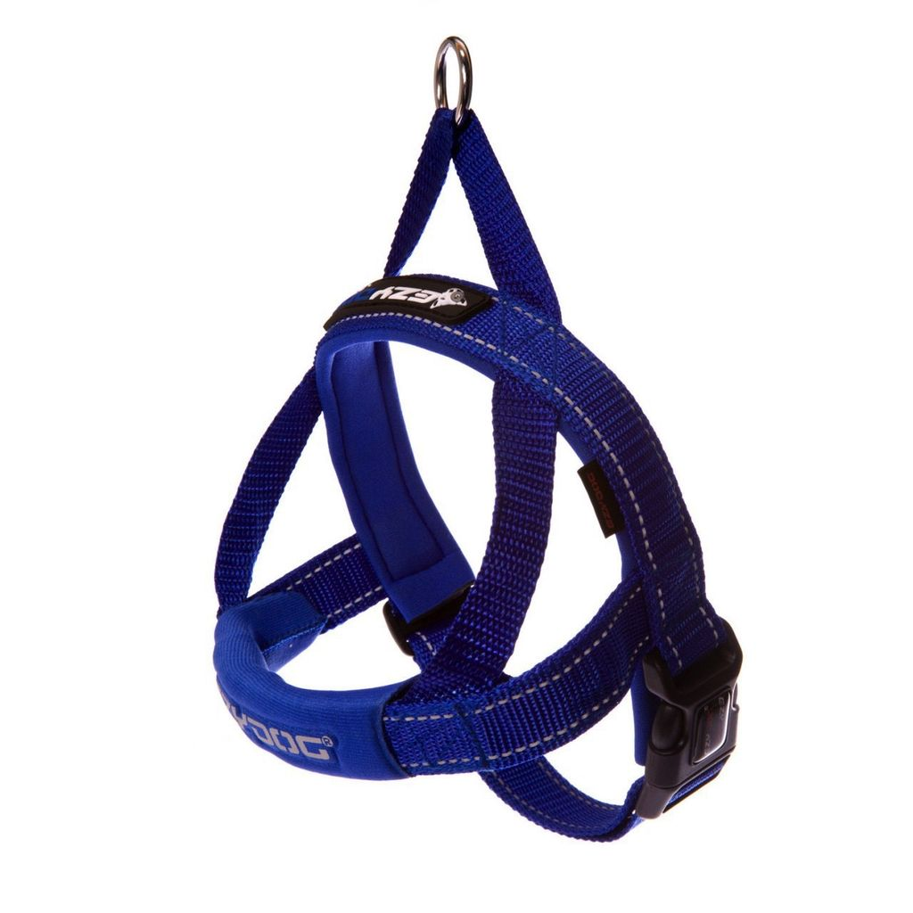 EzyDog EzyDog Quick Fit Harness Blue, Small Product Image