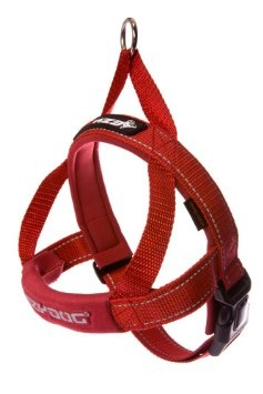 EzyDog Quick Fit Harness Red, Small Product Image