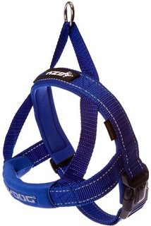 EzyDog EzyDog Quick Fit Harness Blue, Medium