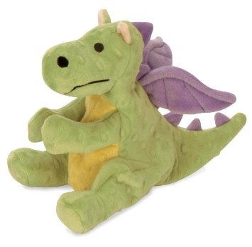 GoDog GoDog Mini Dragon Dog Toy - Green