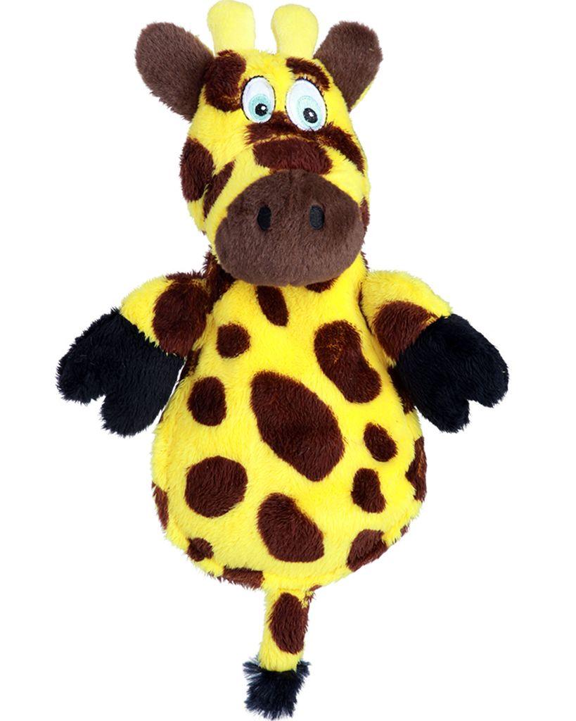 Hear Doggy Hear Doggy Flattie Giraffe Dog Toy