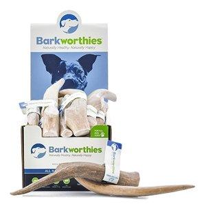 Barkworthies Barkworthies Deer Antler, Extra Large Split, 7-8 inch
