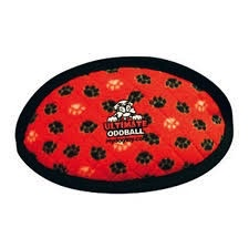 Tuffy Tuffy Ultimate Odd Ball - Red Paws