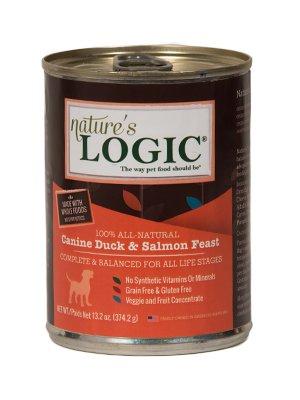 Nature's Logic Nature's Logic Duck & Salmon Canned Dog Food, 13.2 oz