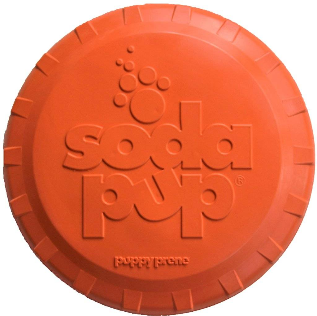 SodaPup SodaPup Bottle Top Flyer Dog Toy Product Image