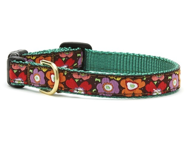 Up Country Up Country Mod Floral Dog Collar - Medium Narrow