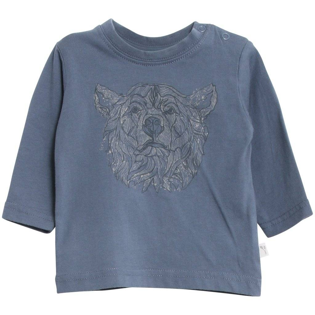 WHEAT KIDS Cotton Long Sleeve Shirt by Wheat Kids Clothing