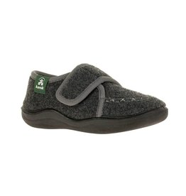 Kamik Cozy Lodge Kid's Felt Slippers with Rubber Soles by Kamik