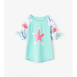Hatley Short Sleeve UV Protection Rash Guard by Hatley