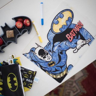 Bumkins Superheroes Silicone Colouring Placemat
