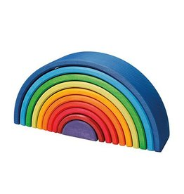 Grimms Rainbow Sunset Wooden Stacking Toy