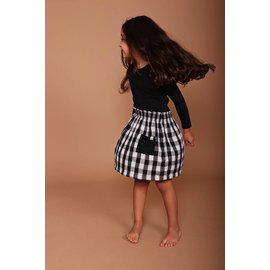 Turtledove London Reversible Check Skirt by Turtledove London