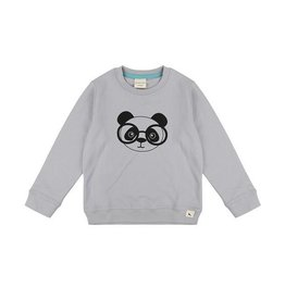 Turtledove London Panda Face Sweatshirt by Turtledove London