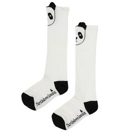 Turtledove London Panda Knee High Socks by Turtledove London