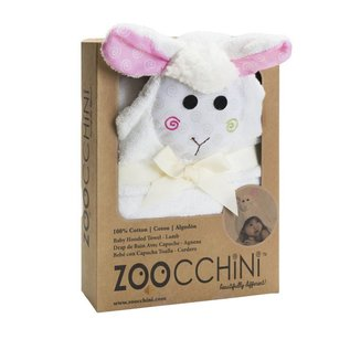 Zoocchini Hooded Cotton Baby Towel by Zoocchini