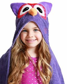 Zoocchini Hooded Cotton Toddler Size Towel by Zoocchini
