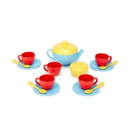 Green Toys Gender Neutral Tea Set by Green Toys