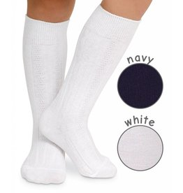 Jefferies Cable Knit Knee High Socks - 1 Pair (Jefferies)