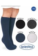 Jefferies Seamless Knee High Socks 2-Pack (Jefferies)