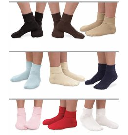 Jefferies Organic Turn Cuff Socks - 1 Pair (Jefferies)