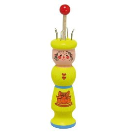 Gluckskafer Knitting Tower Helper - Yellow Doll by Gluckskafer