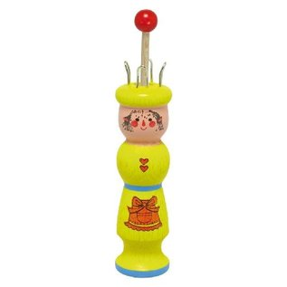 Gluckskafer Knitting Tower Helper - Yellow Doll by Gluckskafer