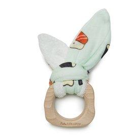 loulou Lollipop Bamboo Bunny Ear Teether by loulou Lollipop