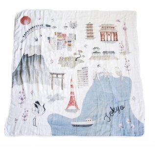 loulou Lollipop Bamboo Swaddle by loulou Lollipop