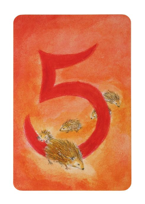 Grimms Water Colours Number Cards by Grimms