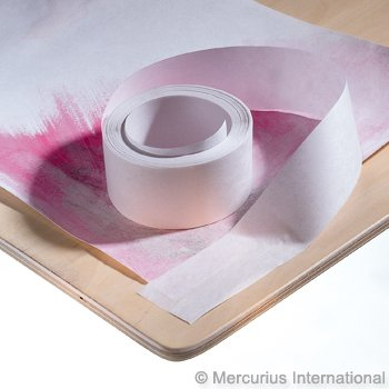 "Mercurious Paper Tape (1 1/2"") 200 yards (for Water Colours)"