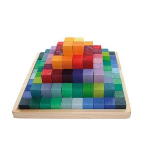 Grimms Stepped Pyramid Building Set by Grimm's