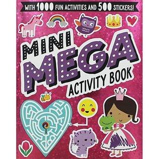 Make Believe Ideas Mini Mega Activity Book Pink