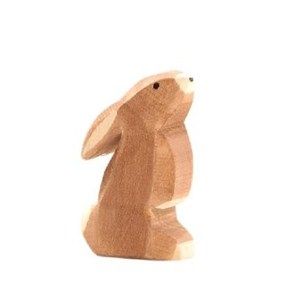 Ostheimer Wooden Rabbit Figures by Ostheimer