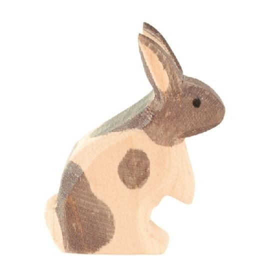 Ostheimer Wooden Rabbit Figures by Ostheimer